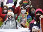 Desecration Trial Opens Over LGBTQ Rainbow Put on Polish Icon